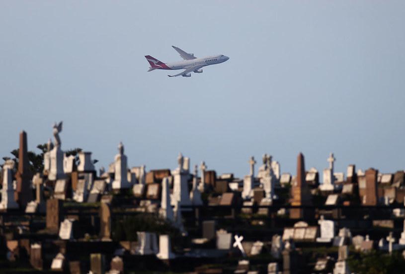 """Australijskie linie Qantas zaoferowały swoim klientom """"lot donikąd"""". Jednak wrażenia mają być niezapomniane. /Ryan Pierse /Getty Images"""