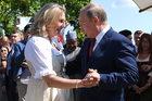 Austria: Putin wśród gości na ślubie szefowej MSZ