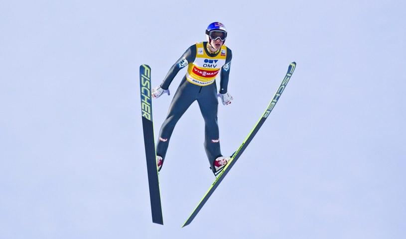 Austriacki skoczek narciarski Gregor Schlierenzauer /PAP/EPA