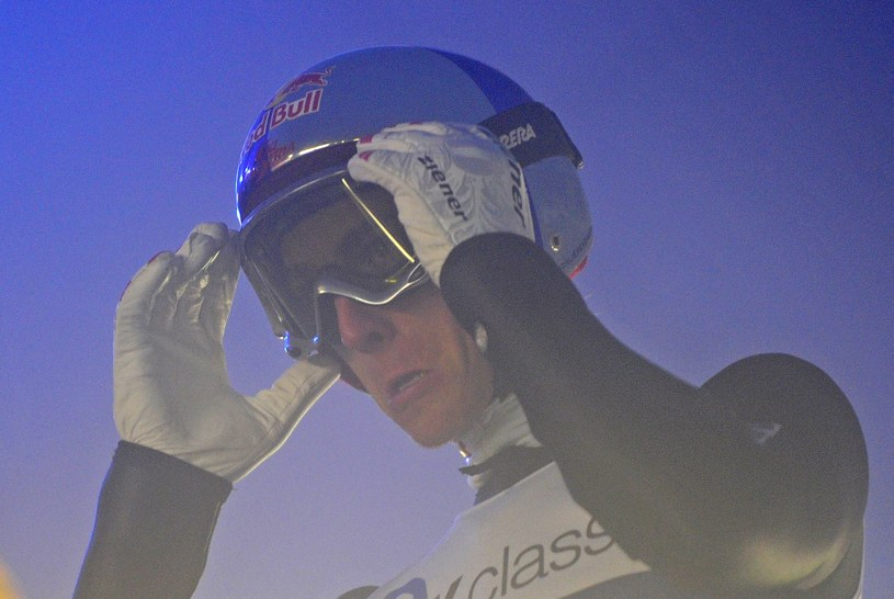 Austriacki skoczek narciarski Gregor Schlierenzauer /AFP