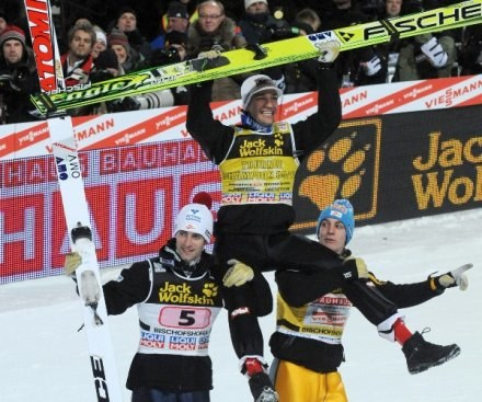 Austriacy nosili Koflera na rękach /AFP