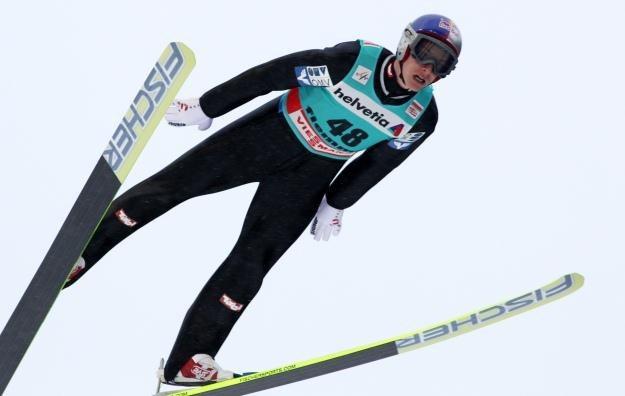 Austriak Gregor Schlierenzauer fot: Grzegorz Momot /PAP