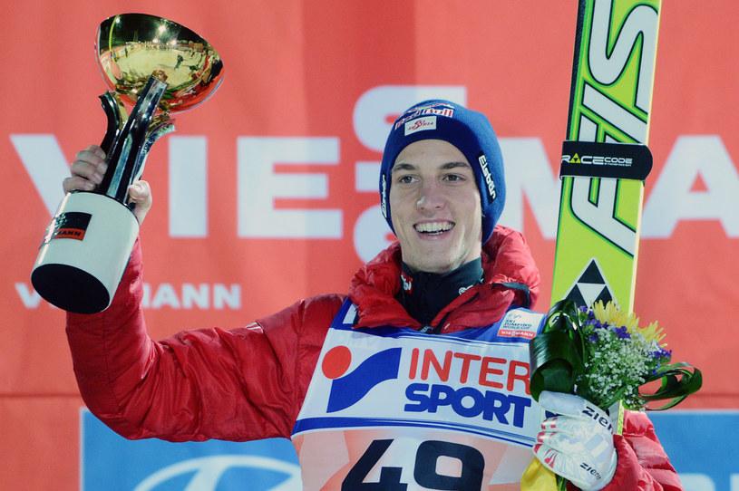 Austriak Gregor Schlierenzauer odniósł w Soczi 42. zwycięstwo w karierze /AFP