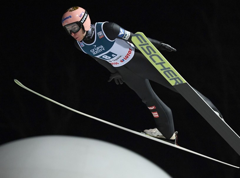 Austriak Stefan Kraft /AFP