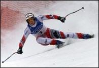 Austriak Werner Franz - jeden ze zwycięzców w St. Anton