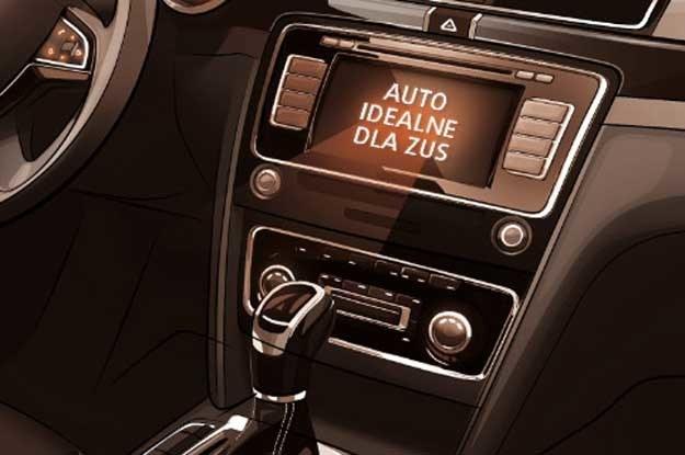 Auto dla członka zarządu ZUS musi mieć fabryczne radio z odtwarzaczem CD z wbudowanym systemem bluetooth /