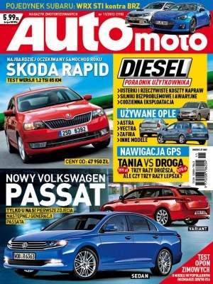 """""""Auto Moto"""" 11/2012 /Auto Moto"""