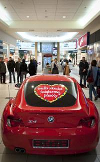 Auto można obejrzeć od wtorku w Galerii Mokotów /