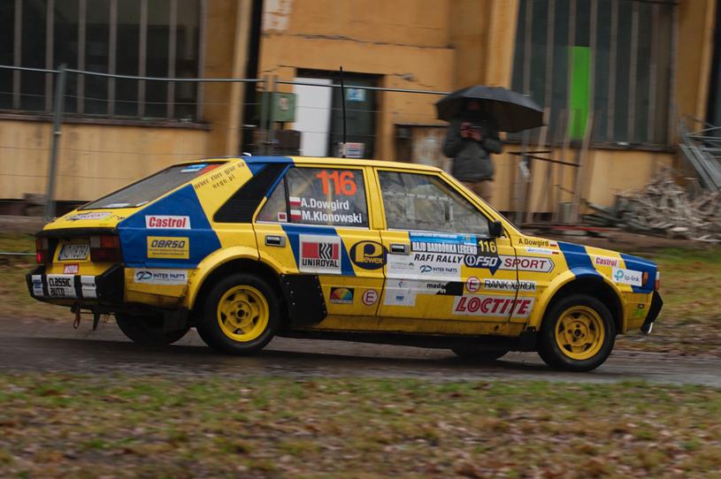 Auto stanowi replikę pojazdu, który startował w mistrzostwach Polski /