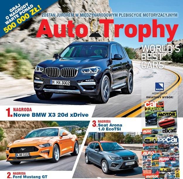 auto trophy nagrody /magazynauto.pl