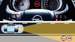 Auto widzi znaki?