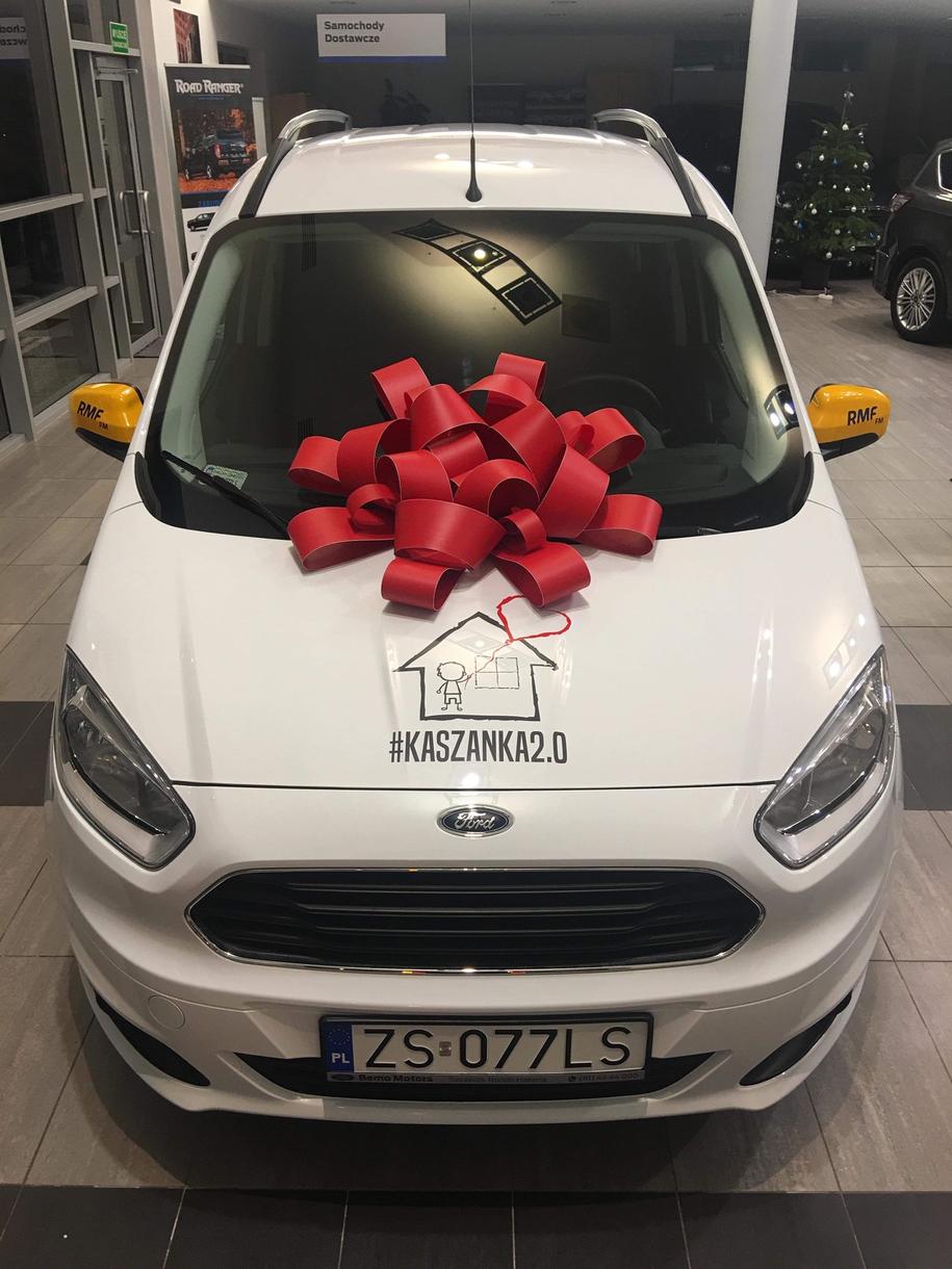 Auto zakupione dla szczecińskiej placówki /Paweł Żuchowski /RMF FM