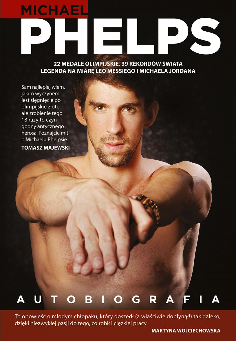 Autobiografia Michaela Phelpsa /materiały prasowe