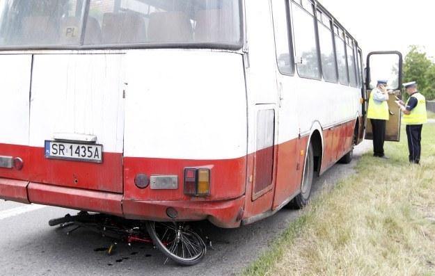 Autobus był w fatalnym stanie technicznym /PAP
