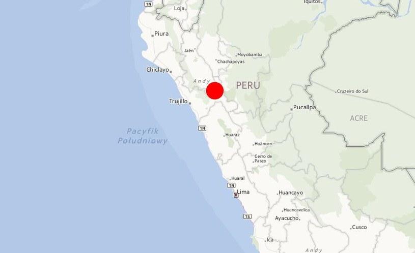 Autobus jechał z położonego w Andach miasta Huamachuco /INTERIA.PL