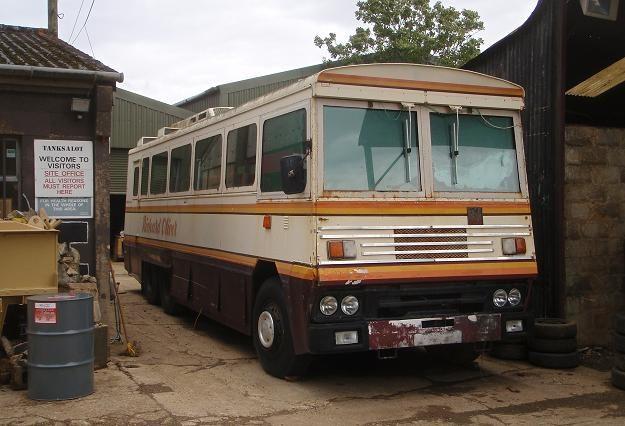 Autobus, którym wożono Margharet Thatcher /AFP