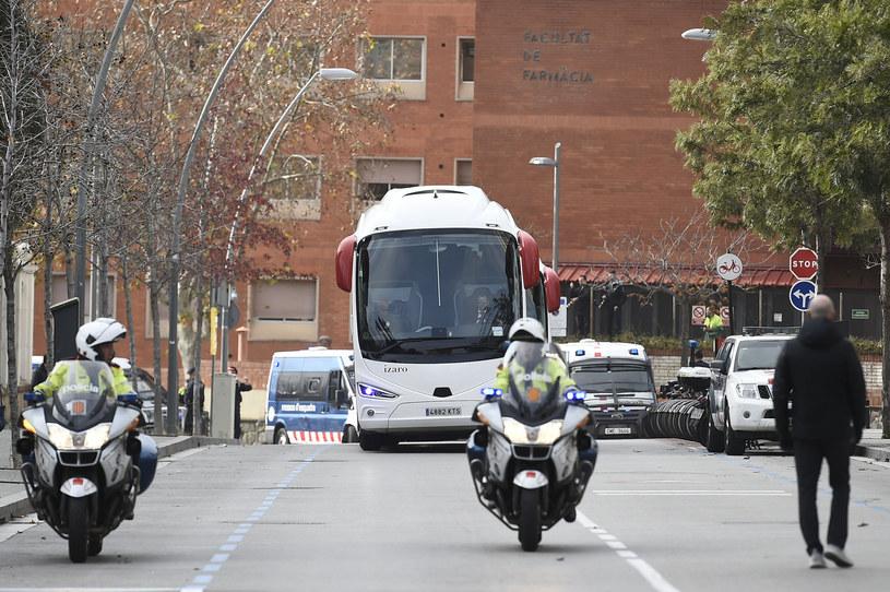 Autobus Realu Madryt / AFP/AFP JOSEP LAGO/ /AFP