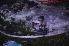 Autobus spadł z wysokiej skarpy w Leszczawie Dolnej na Podkarpaciu. Nie żyją 3 osoby