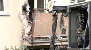 Autobus wjechał w blok mieszkalny w Płocku. 10 rannych