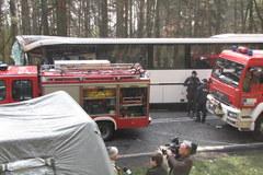 Autobus zderzył się z tirem w Zachodniopomorskiem