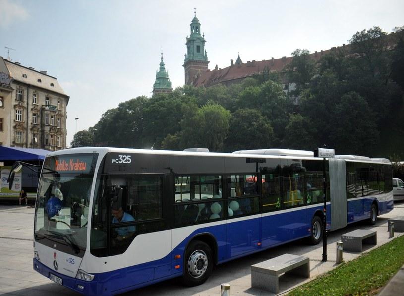 Autobusy Mobilisa jeżdżą m.in. po Krakowie. Dla laika nie różnią się od tych należących do MPK /Marek Lasyk  /Reporter