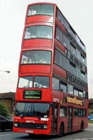 Autobusy te poruszać się bedą specjalnymi high-bus-pasami. Zdjęcie nadesłał Grief
