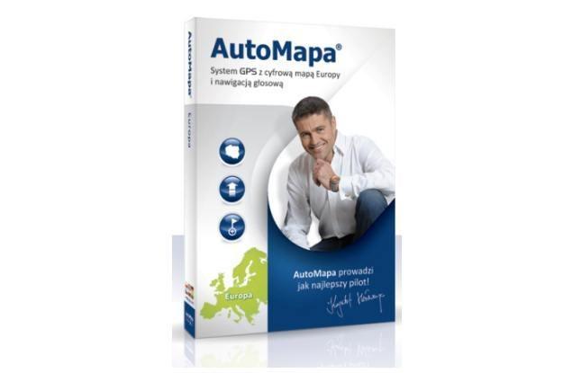 AutoMapa przygotowała specjalną wersję na Euro 2012 /materiały prasowe