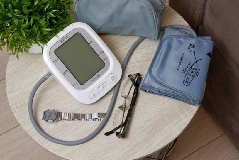 Automatyczny ciśnieniomierz naramienn /materiały prasowe