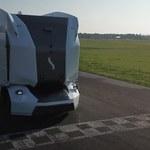 Autonomiczna ciężarówka na słynnym torze Top Gear