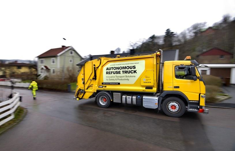 Autonomiczna ciężarówka Volvo /