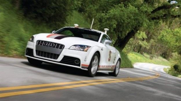 Autonomiczne Audi dostało prawo jazdy /materiały prasowe