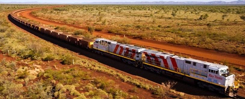 Autonomiczne pociągi Rio Tinto wkrótce będą jeździć po Australii /materiały prasowe