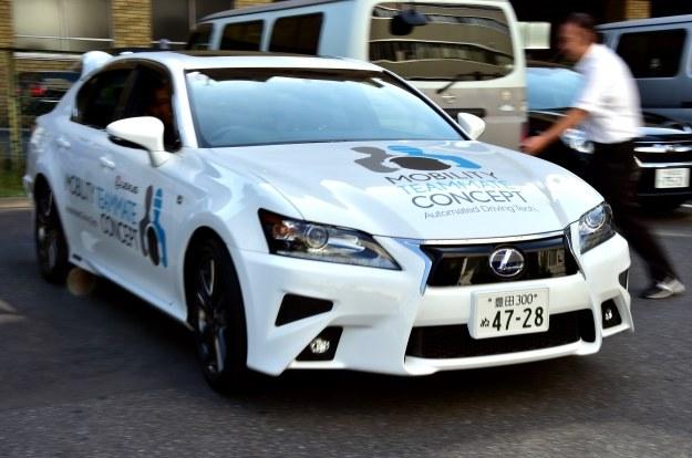 Autonomiczny Lexus /AFP