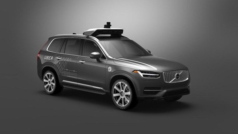 Autonomiczny pojazd Uber /materiały prasowe