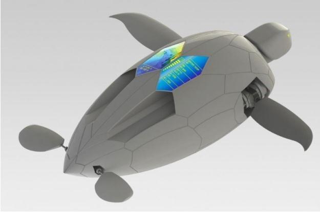Autonomiczny robo-żółw wygląda imponująco /materiały prasowe