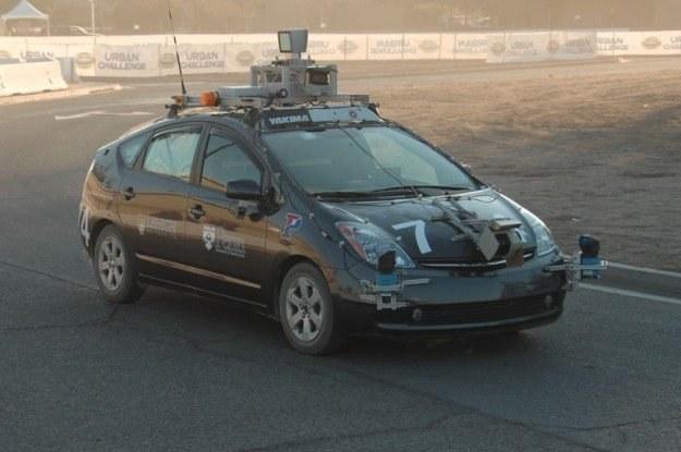 Autonomiczny samochód /  Fot: Darpa /