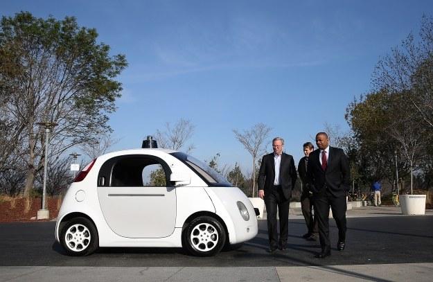 Autonomiczny samochód Google /AFP