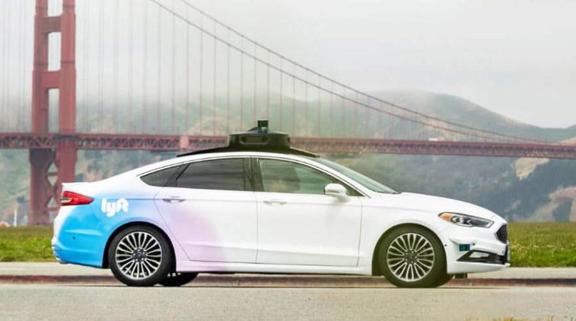 Autonomiczny samochód Lyft /materiały prasowe