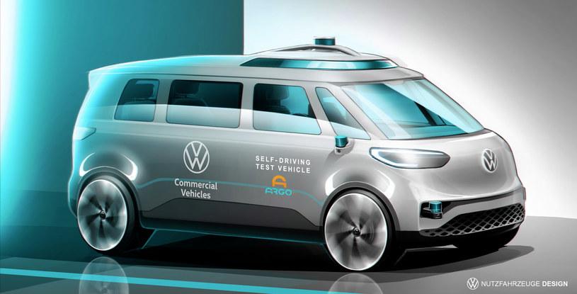 Autonomiczny Volkswagen ID. Buzz /