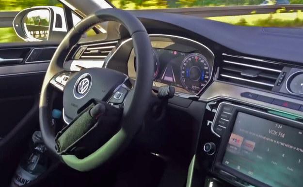 """""""Autonomiczny"""" Volkswagen Passat /"""