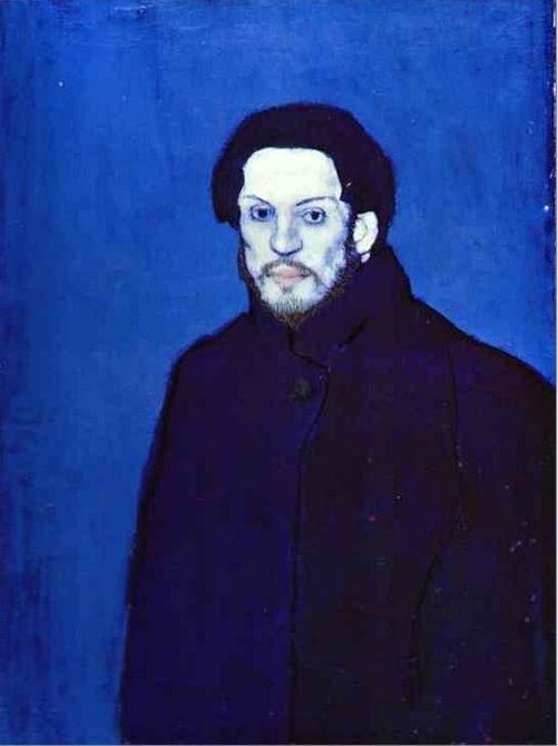 Autoportret, Pablo Picasso, 1901 r. /źródło: www.pablopicasso.org /INTERIA.PL