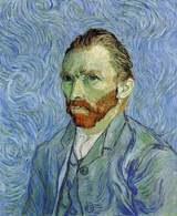 Autoportret: Vincenta van Gogha (1889r.) /Encyklopedia Internautica