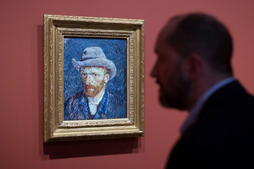 Autoportret Vincenta van Gogha /BERTRAND LANGLOIS /AFP