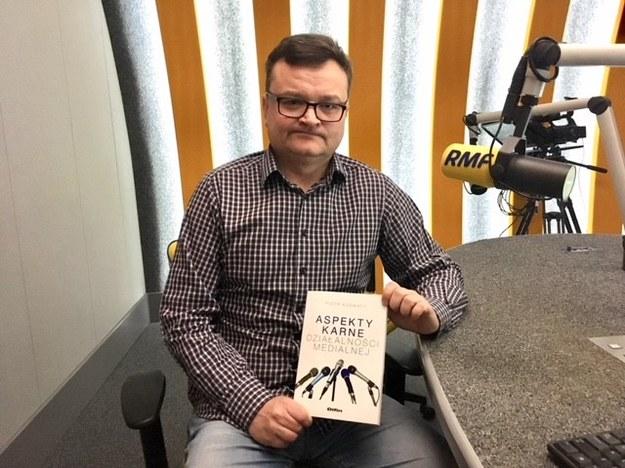 Autor książki Piotr Kosmaty /Ada Pałka (RMF FM) /