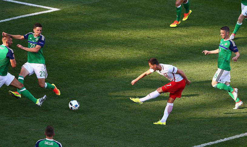 Autorem jednej z bramek na Euro był m.in. Arkadiusz Milik /Getty Images