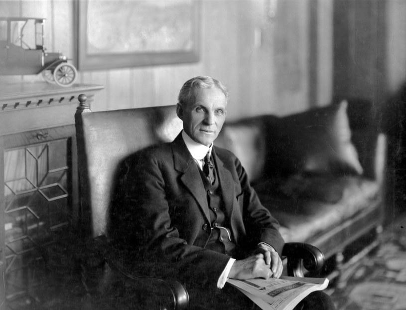 Autorem rewolucji był Henry Ford /