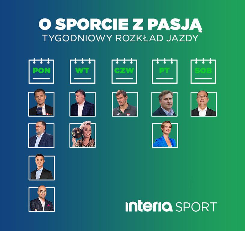 Autorskie cykle Sport Interia /Interia.pl /materiały prasowe