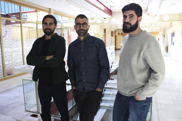 Autorzy pracy, (od lewej) Ginés Navarro, dr Carretero Dios i Jorge Torres z UGR /University of Granada /Materiały prasowe