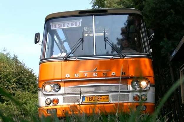 Autosan H9-03 w muzeum w Busku /