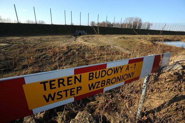 Autostrada A1 powstaje w wielkich bólach... / Fot: Wojciech Stróżyk /Reporter